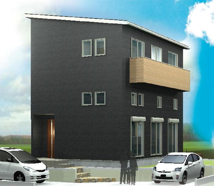 一宮市冨田で2.5階建「大収納のある家」完成見学会開催